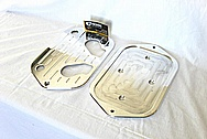 Battery Holder Aluminum Bracket AFTER Chrome-Like Metal Polishing and Buffing Services / Restoration Services