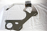 Steel Bracket Piece AFTER Chrome-Like Metal Polishing and Buffing Services / Restoration Services