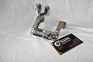Toyota Supra 2JZ-GTE Power Steering Bracket AFTER Chrome-Like Metal Polishing and Buffing Services / Restoration Services