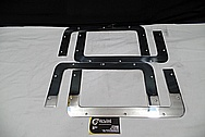 Aluminum Brackets AFTER Chrome-Like Metal Polishing and Buffing Services / Restoration Services
