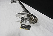 Aluminum Blower Bracket AFTER Chrome-Like Metal Polishing and Buffing Services / Restoration Services