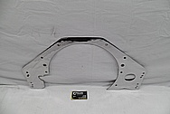 Steel Engine Firewall Mount Bracket AFTER Chrome-Like Metal Polishing and Buffing Services / Restoration Services