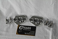 Aluminum Motorcycle Brackets AFTER Chrome-Like Metal Polishing and Buffing Services / Restoration Service