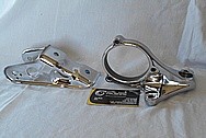 Aluminum Engine Brackets AFTER Chrome-Like Metal Polishing and Buffing Services / Restoration Service
