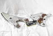 1975 Camaro AC Compressor / Alternator Brackets AFTER Chrome-Like Metal Polishing and Buffing Services