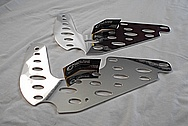 Stainless Steel Bracket AFTER Chrome-Like Metal Polishing and Buffing Services / Restoration Servicev