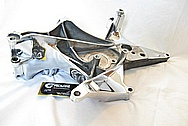 Chevy Corvette V8 Aluminum Bracket AFTER Chrome-Like Metal Polishing and Buffing Services