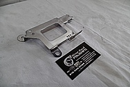 Toyota Supra Bracket Piece AFTER Chrome-Like Metal Polishing - Stainless Steel Polishing