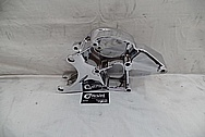 2007 Chevrolet Corvette Aluminum Alternator / Power Steering Mount Bracket AFTER Chrome-Like Metal Polishing - Aluminum Polishing