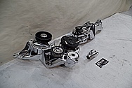 1993 Buick Roadmaster Aluminum Engine Brackets AFTER Chrome-Like Metal Polishing and Buffing Services - Aluminum Polishing Services