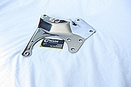 Steel Engine Bracket AFTER Chrome-Like Metal Polishing and Buffing Services
