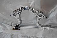 Aluminum Engine Bracket AFTER Chrome-Like Metal Polishing and Buffing Services - Aluminum Polishing Services