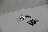Steel Hood Latch Bracket AFTER Chrome-Like Metal Polishing and Buffing Services - Steel Polishing Services