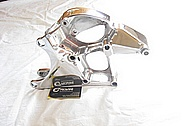 Chevrolet C5 Corvette V8 Aluminum Alternator Bracket AFTER Chrome-Like Metal Polishing and Buffing Services