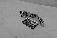 Steel Transmission Bracket AFTER Chrome-Like Metal Polishing - Steel Polishing