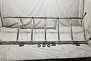 Stainless Steel Towel Rack Bracketry AFTER Chrome-Like Metal Polishing - Stainlesss Steel Polishing Services