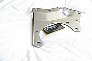Ford Mustang Aluminum Supercharger Bracket AFTER Chrome-Like Metal Polishing and Buffing Services