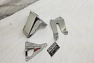 Stainless Steel Brackets AFTER Chrome-Like Metal Polishing - Stainless Steel Polishing