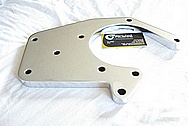 Ford Mustang Aluminum Supercharger Brackets AFTER Chrome-Like Metal Polishing and Buffing Services