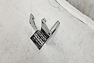 Steel Power Steering Bracket AFTER Chrome-Like Metal Polishing - Aluminum Polishing - Steel Polishing Service