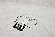 Aluminum Bracket Pieces AFTER Chrome-Like Metal Polishing and Buffing Services - Aluminum Polishing Services