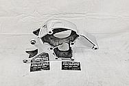 Aluminum Alternator Bracket AFTER Chrome-Like Metal Polishing and Buffing Services - Aluminum Polishing