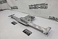 Steel Bracket AFTER Chrome-Like Metal Polishing and Buffing Services - Steel Polishing Services