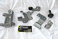 Nissan GTR Aluminum and Steel Brackets BEFORE Chrome-Like Metal Polishing and Buffing Services / Restoration Services