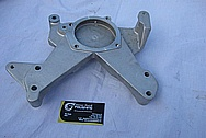 Aluminum Bracket BEFORE Chrome-Like Metal Polishing and Buffing Services / Restoration Services