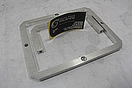 Battery Holder Aluminum Bracket BEFORE Chrome-Like Metal Polishing and Buffing Services / Restoration Services
