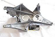Chevy Corvette V8 Aluminum Bracket BEFORE Chrome-Like Metal Polishing and Buffing Services