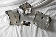 Aluminum Brackets BEFORE Chrome-Like Metal Polishing and Buffing Services / Restoration Services