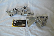 Aluminum Motorcycle Brackets BEFORE Chrome-Like Metal Polishing and Buffing Services / Restoration Service