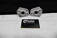 Aluminum Bracket Pieces BEFORE Chrome-Like Metal Polishing and Buffing Services / Restoration Service