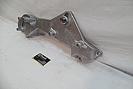 Magnum Powers Aluminum Supercharger Bracket Piece BEFORE Chrome-Like Metal Polishing and Buffing Services / Restoration Service