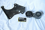 Steel Engine Bracket BEFORE Chrome-Like Metal Polishing and Buffing Services