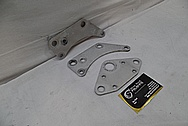 Aluminum Bracket BEFORE Chrome-Like Metal Polishing and Buffing Services / Restoration Service