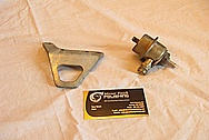 Steel Fuel Pressure Regulator Bracket BEFORE Chrome-Like Metal Polishing and Buffing Services