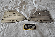 Aluminum No Limit Brackets BEFORE Chrome-Like Metal Polishing and Buffing Services / Restoration Services and Coustom Painting Services