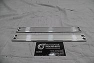 Aluminum Bracket Piece BEFORE Chrome-Like Metal Polishing - Aluminum Polishing
