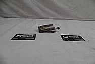 Toyota Supra Tensioner Bracket BEFORE Chrome-Like Metal Polishing - Stainless Steel Polishing