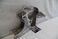 2007 Chevrolet Corvette Aluminum Alternator / Power Steering Mount Bracket BEFORE Chrome-Like Metal Polishing - Aluminum Polishing
