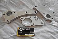 Aluminum Engine Brackets BEFORE Chrome-Like Metal Polishing and Buffing Services - Aluminum Polishing Services