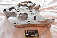 1997 - 2004 Chevrolet C5 Corvette LS1 Aluminum Bracket BEFORE Chrome-Like Metal Polishing and Buffing Services