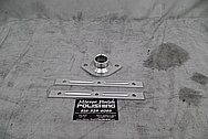 Aluminum Brackets BEFORE Chrome-Like Metal Polishing and Buffing Services - Aluminum Polishing Services