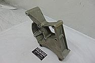 2007 Chevy Corvette LS2 Aluminum Alternator Bracket BEFORE Chrome-Like Metal Polishing - Aluminum Polishing Services