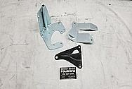 Stainless Steel Brackets BEFORE Chrome-Like Metal Polishing - Stainless Steel Polishing