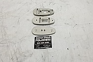 Aluminum Bracket Pieces BEFORE Chrome-Like Metal Polishing and Buffing Services - Aluminum Polishing Services