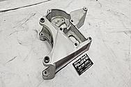 Aluminum Alternator Bracket BEFORE Chrome-Like Metal Polishing and Buffing Services - Aluminum Polishing