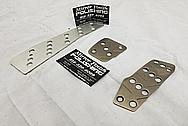 Aluminum/ Titanium Pedals BEFORE Chrome-Like Metal Polishing and Buffing Services - Aluminum Polishing & Titanium Polishing